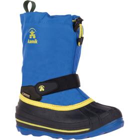 Kamik Waterbug 8G - Bottes Enfant - jaune/bleu
